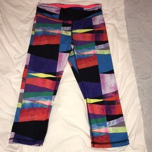 72787db6d862e Aeropostale Pants | Multi Color Cropped Workout | Poshmark